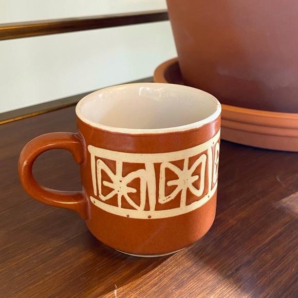 Vintage Stoneware Cup